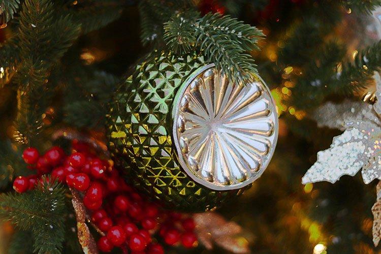 Christmas decoration. New Year background example image 1