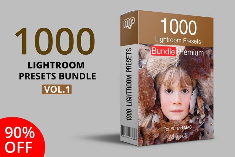 1000 Lightroom Presets Bundle