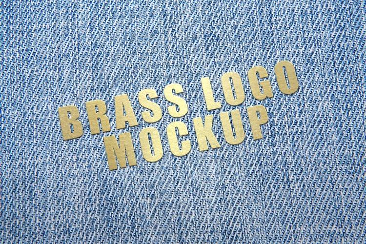 Brass Logo Mockup example image 1