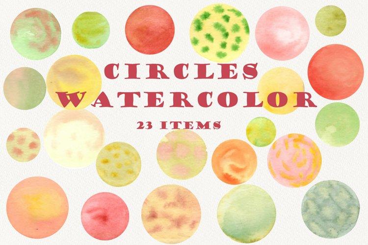 Watercolor dots, Circle clipart, Abstract, Splashes clip art
