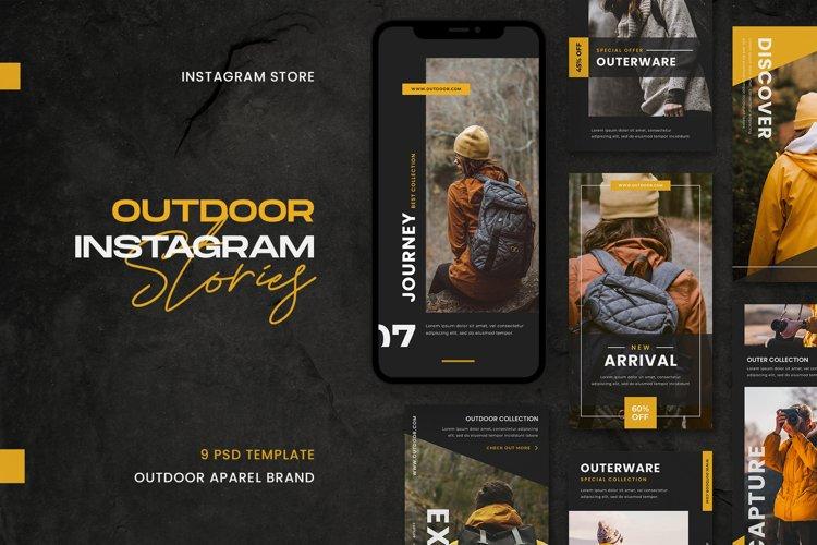 Outdoor Instagram Stories Template example image 1