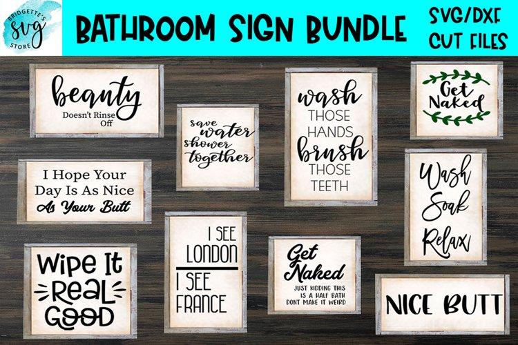 Bathroom Sign Bundle