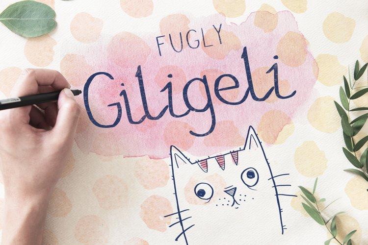 Fugly Giligeli Font example image 1