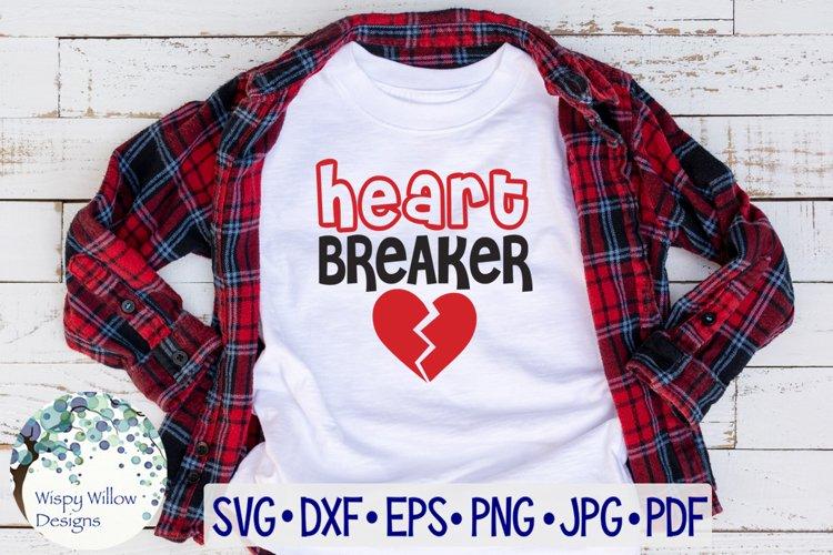 Heart Breaker | Valentine's Day SVG example image 1
