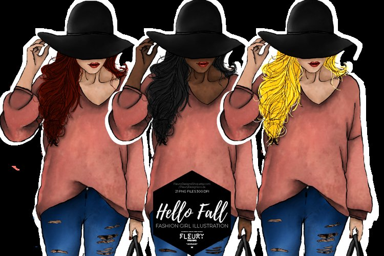 Hello Fall Fashion Girl Collection