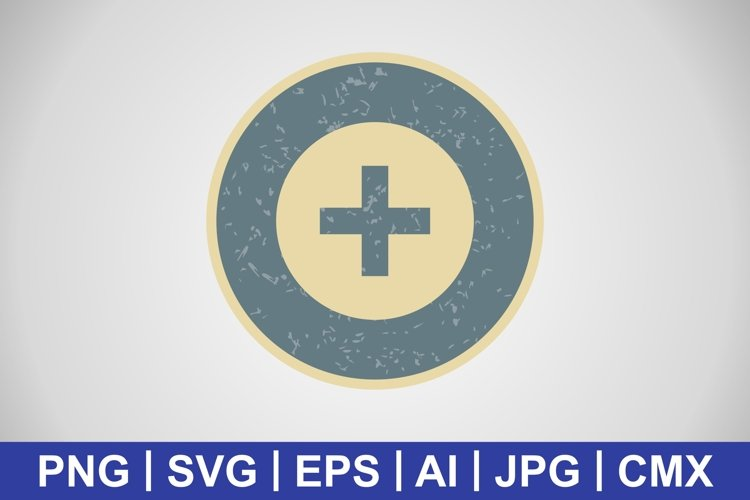 Vector Medical Sign Icon