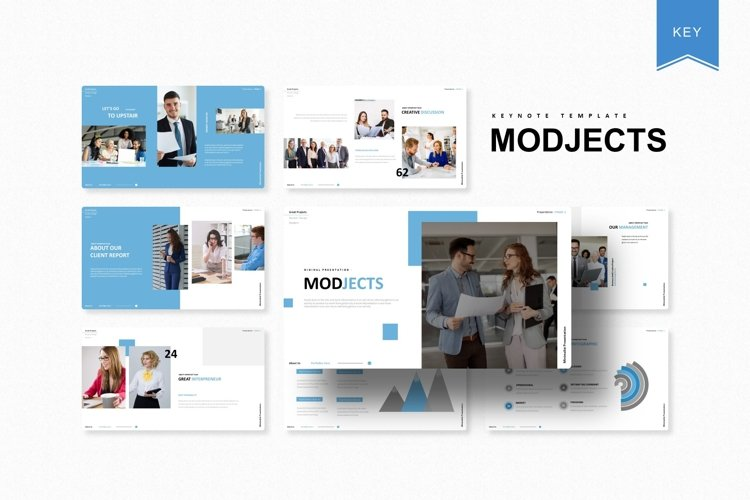 Modjects | Keynote Template example image 1
