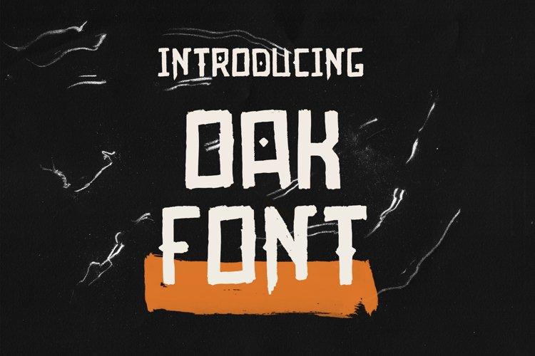 Oak Font