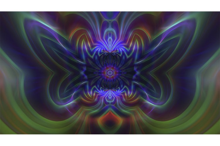 Abstract fantasy glowing background. example image 1