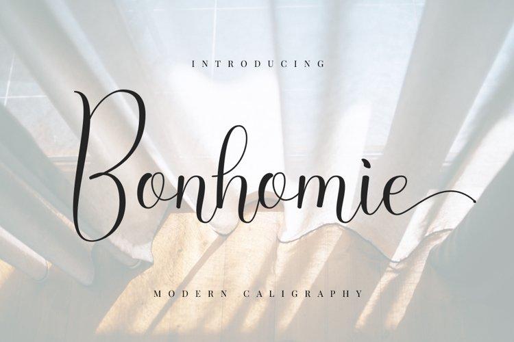 Bonhomie