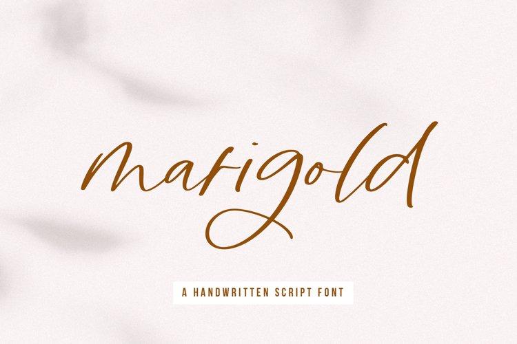 Marigold - A Handwritten Script Font example image 1