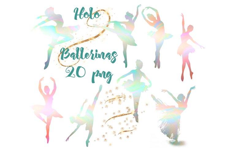 Holo Ballerinas - Hologram Silhouette example image 1