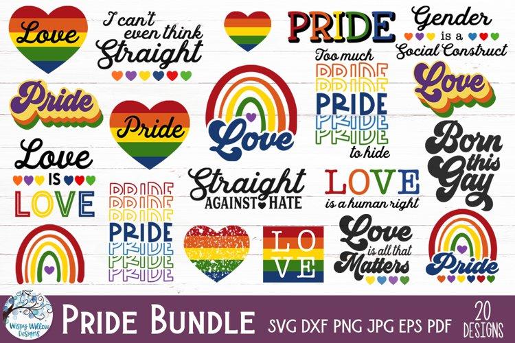 LGBTQ Pride SVG Bundle   Gay Pride Awareness SVG Bundle