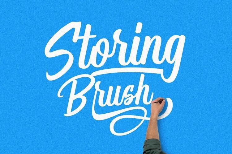 Storing Brush example image 1