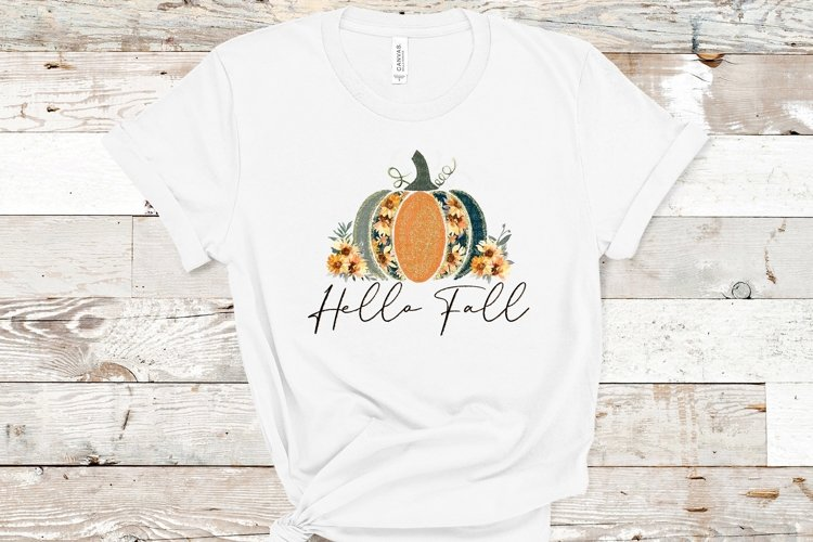 Hello fall-PNG-Pumpkins example image 1