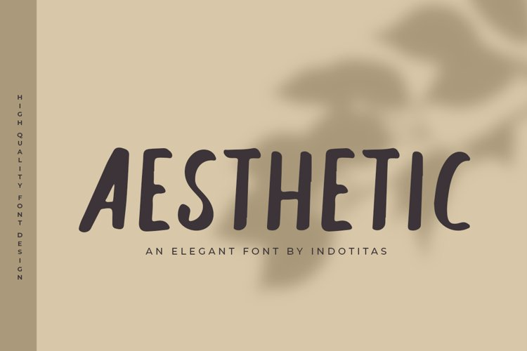 Aesthetic Font example image 1