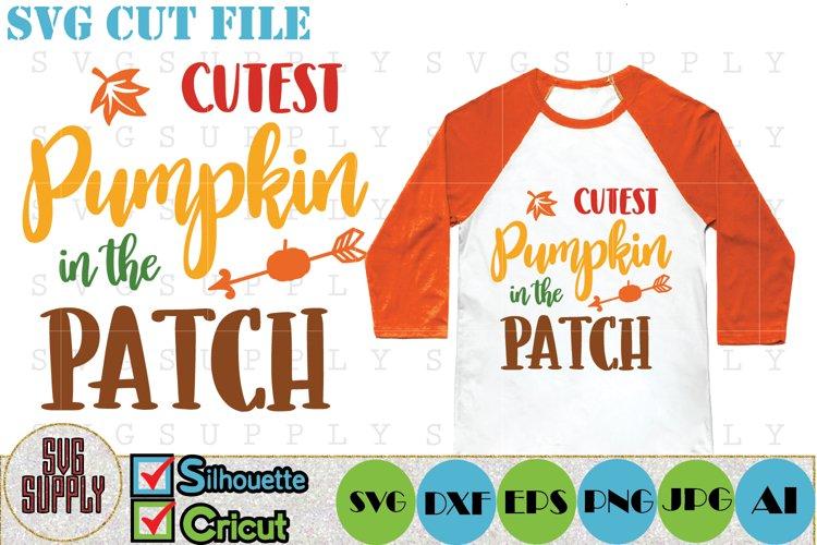 Cutest Pumpkin SVG Cut File