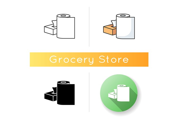 Paper products icon example image 1