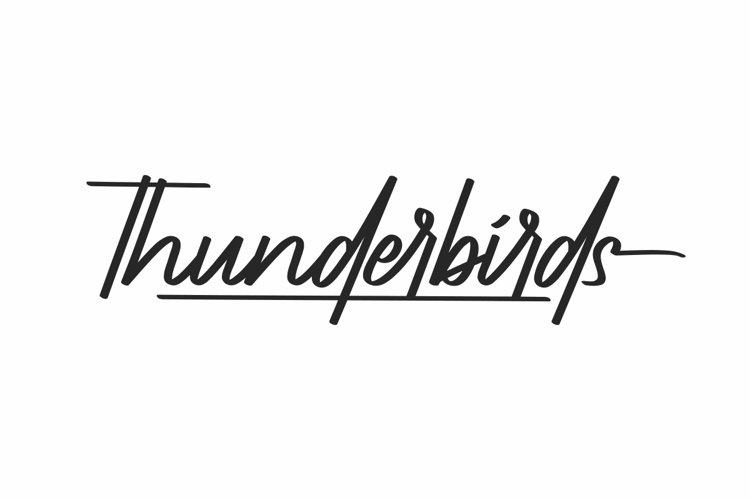Thunderbirds example image 1