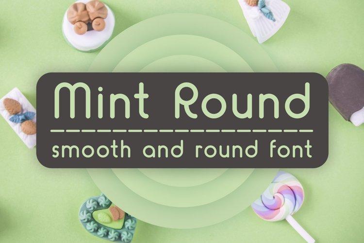 Mint Round example image 1