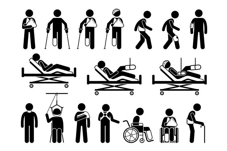 Orthopedics Medical Product Body Support Pain Injury Injured