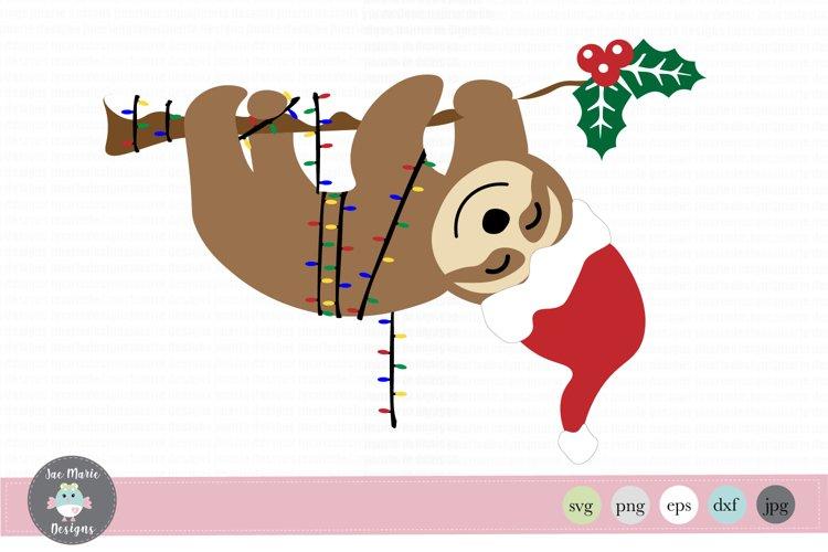 Christmas Sloth Svg Sloth Svg Christmas Clipart 281368 Svgs Design Bundles