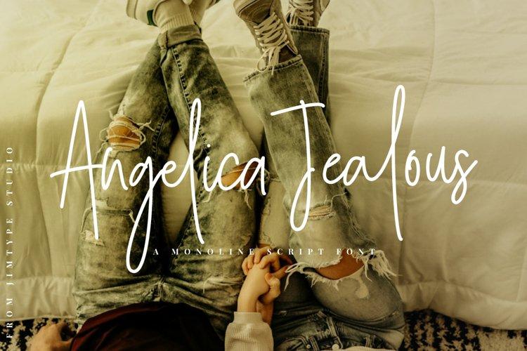 Angelica Jealous | Monoline Style example image 1