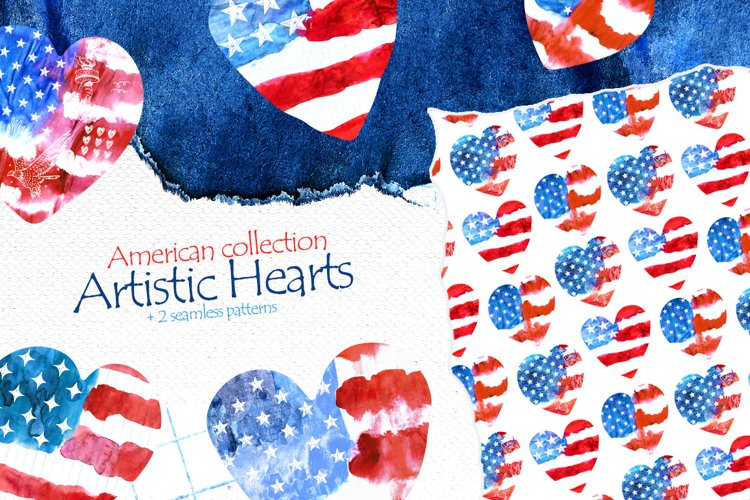American collection Artistic Hearts