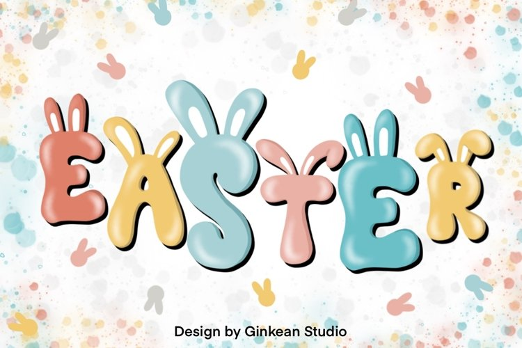 Easter Day clipart , png file, Easter day png, sticker example image 1