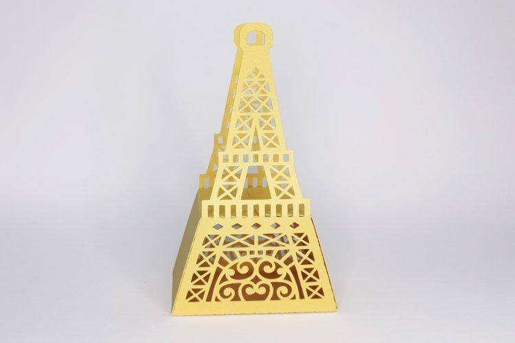 Eiffel tower favor box svg, Wedding favor boxes