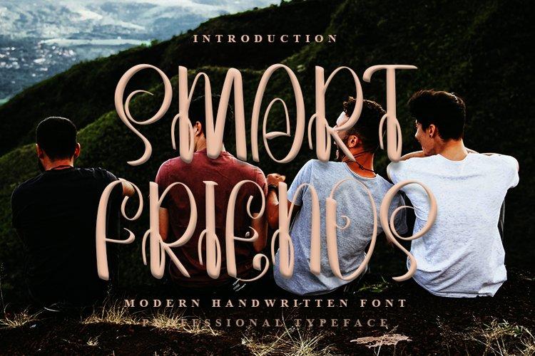 Smart Friends - A Beauty Handwritten Font example image 1