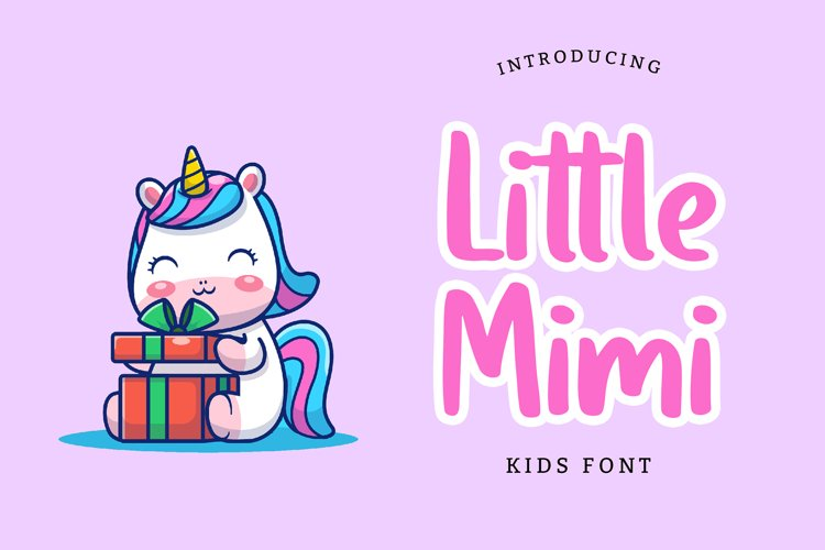 Little Mimi Kids Font example image 1