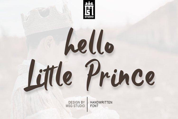 Little Prince Regular example image 1