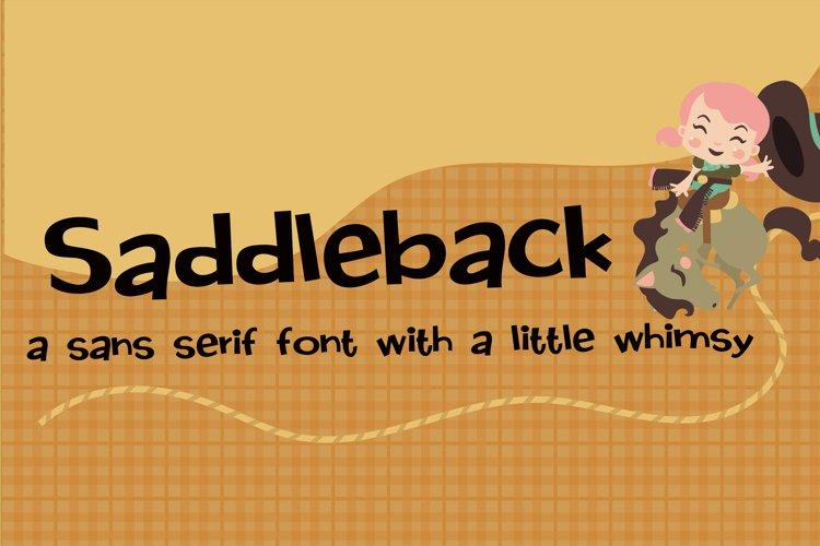 PN Saddleback example image 1