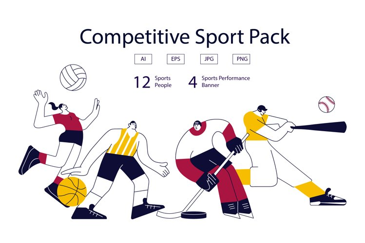Competitive Sport Players Pack
