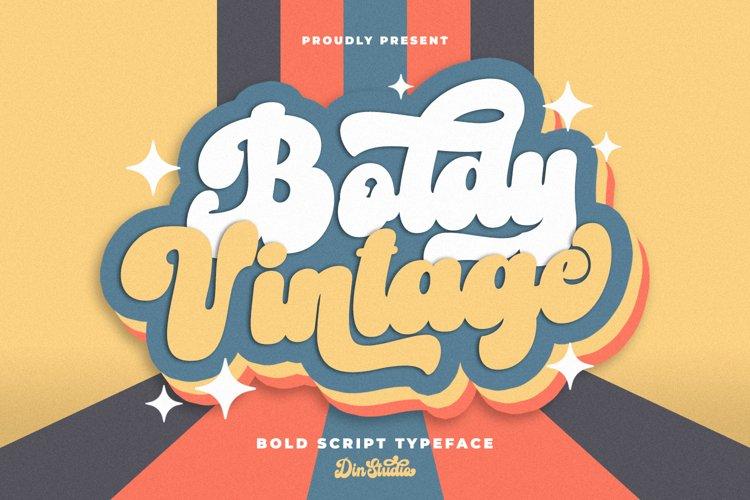 Boldy Vintage example image 1
