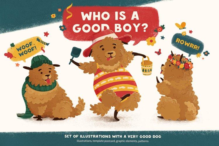 Good Dog Illustration & Design