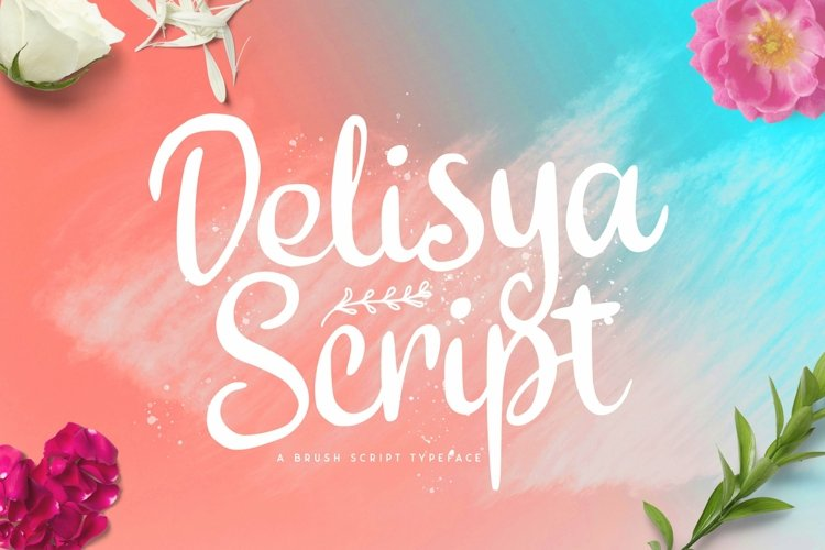 Web Font Delisya Script example image 1