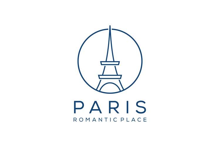 Paris Eiffel Tower sign example image 1
