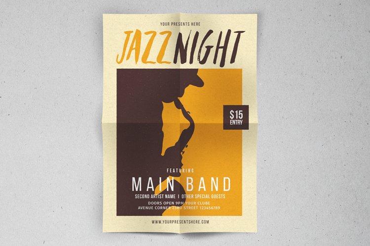 Jazz Night Flyer example image 1