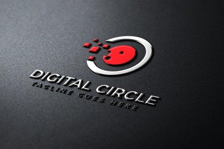 Digital Circle Logo example image 1