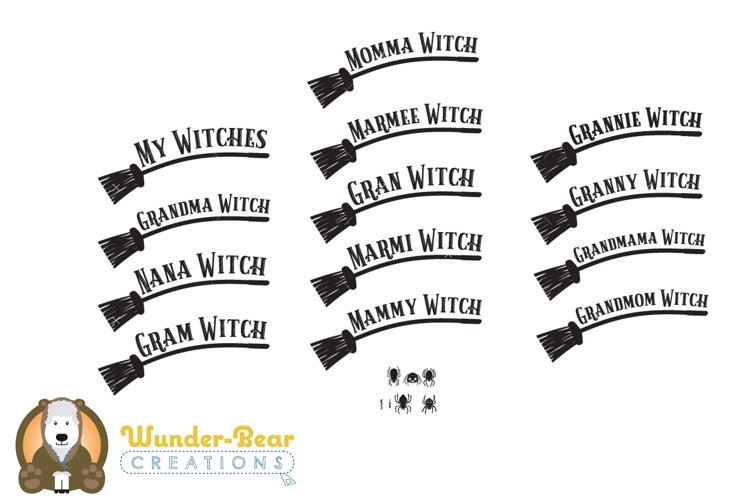 Halloween Bundle - Mom Witch