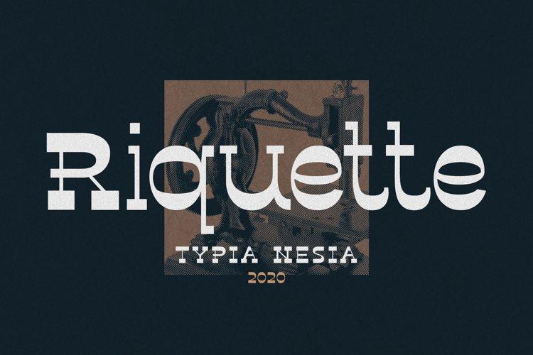 Riquette example image 1
