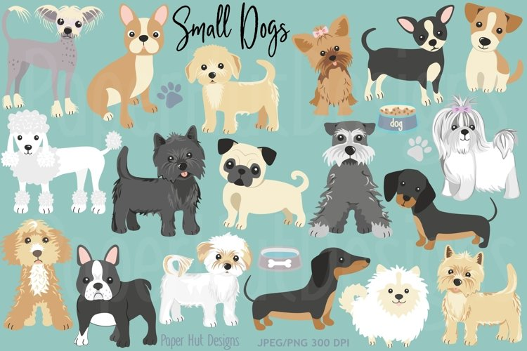 Small Dog Clipart