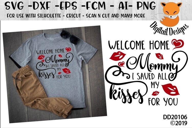 Welcome Home Valentine SVG