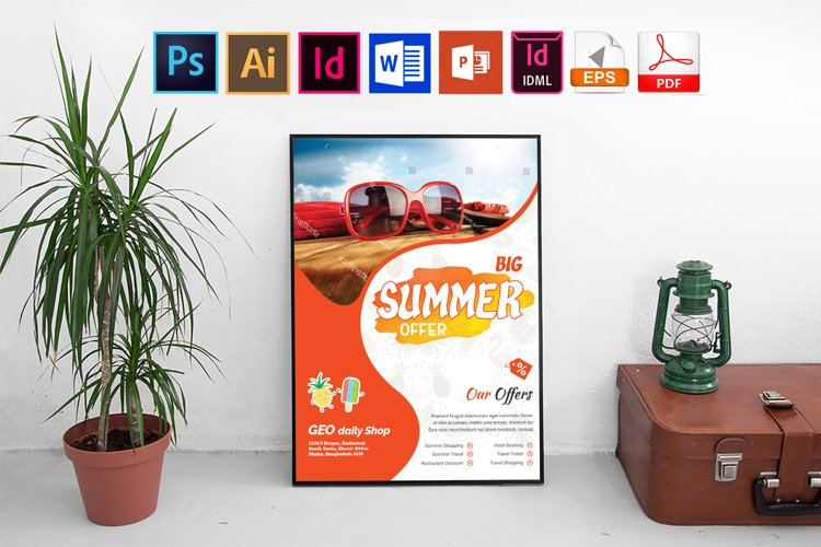 Poster   Summer Sale Vol-03 example image 1
