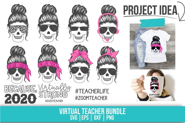 School, Virtual Teacher, SVG, PNG, DXF, EPS example