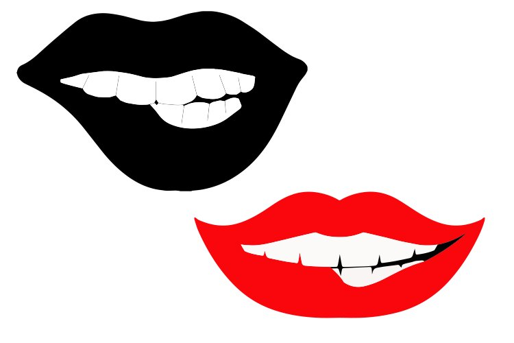 MOUTH mother's day svg example image 1
