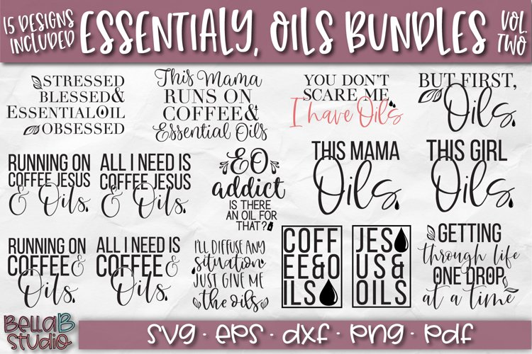 Essential Oils SVG Bundle, Essential Oils Quotes SVG Bundle