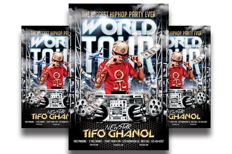 Hip Hop World Tour - Flyer Template